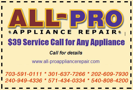Welcome To All Pro Appliance Repair